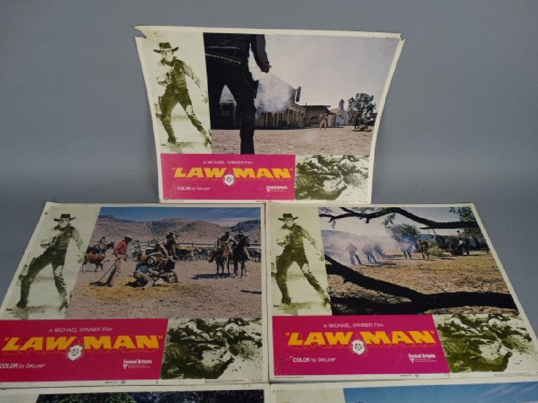 Lobby Cards - Law Man - 2