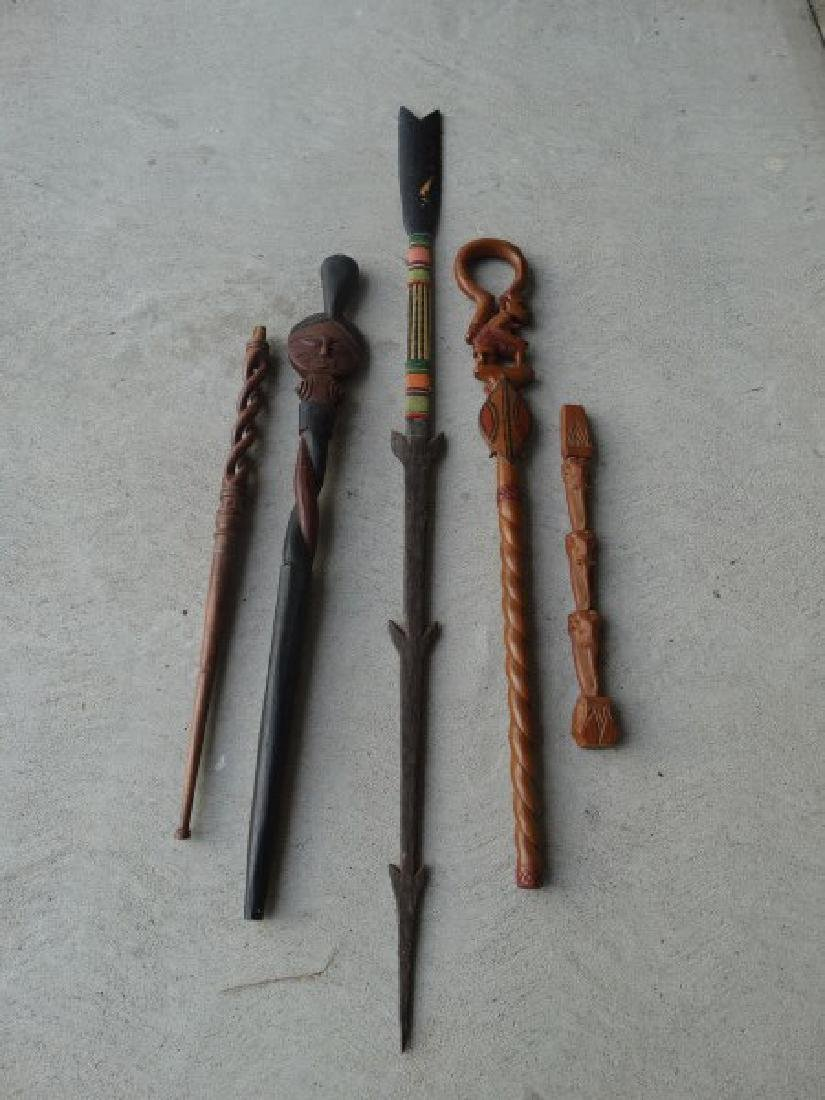 5 Pieces Various Ethnographic Items