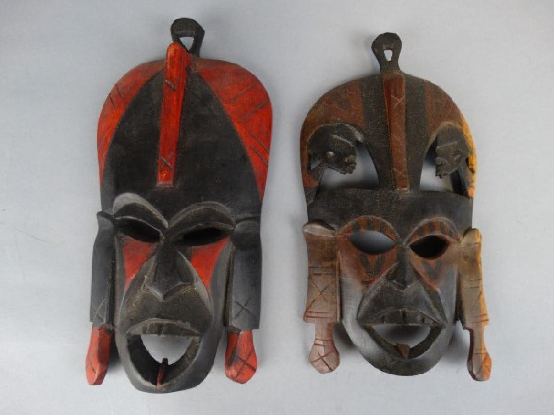 2 Masks & Woodcarving - 2