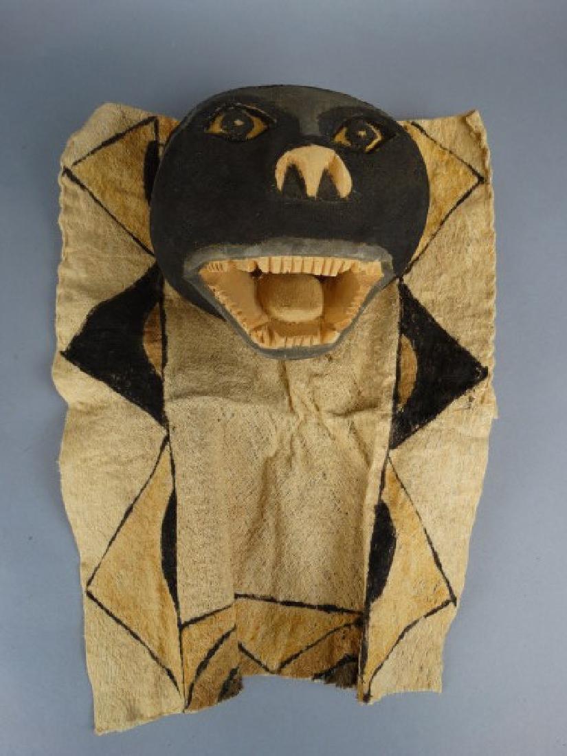 2 Ticuna People, W. Amazon Brazil Masks - 2