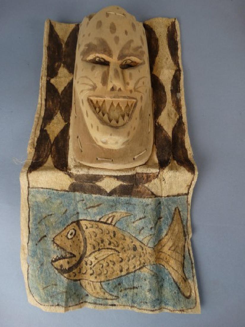 2 Ticuna People, W. Amazon Brazil Masks - 4