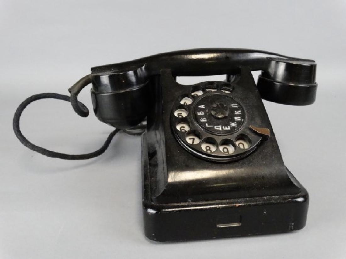 Russian Rotary Phone