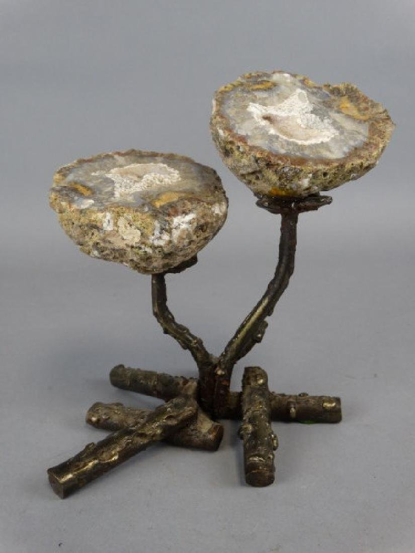 Flower Geode Sculpture