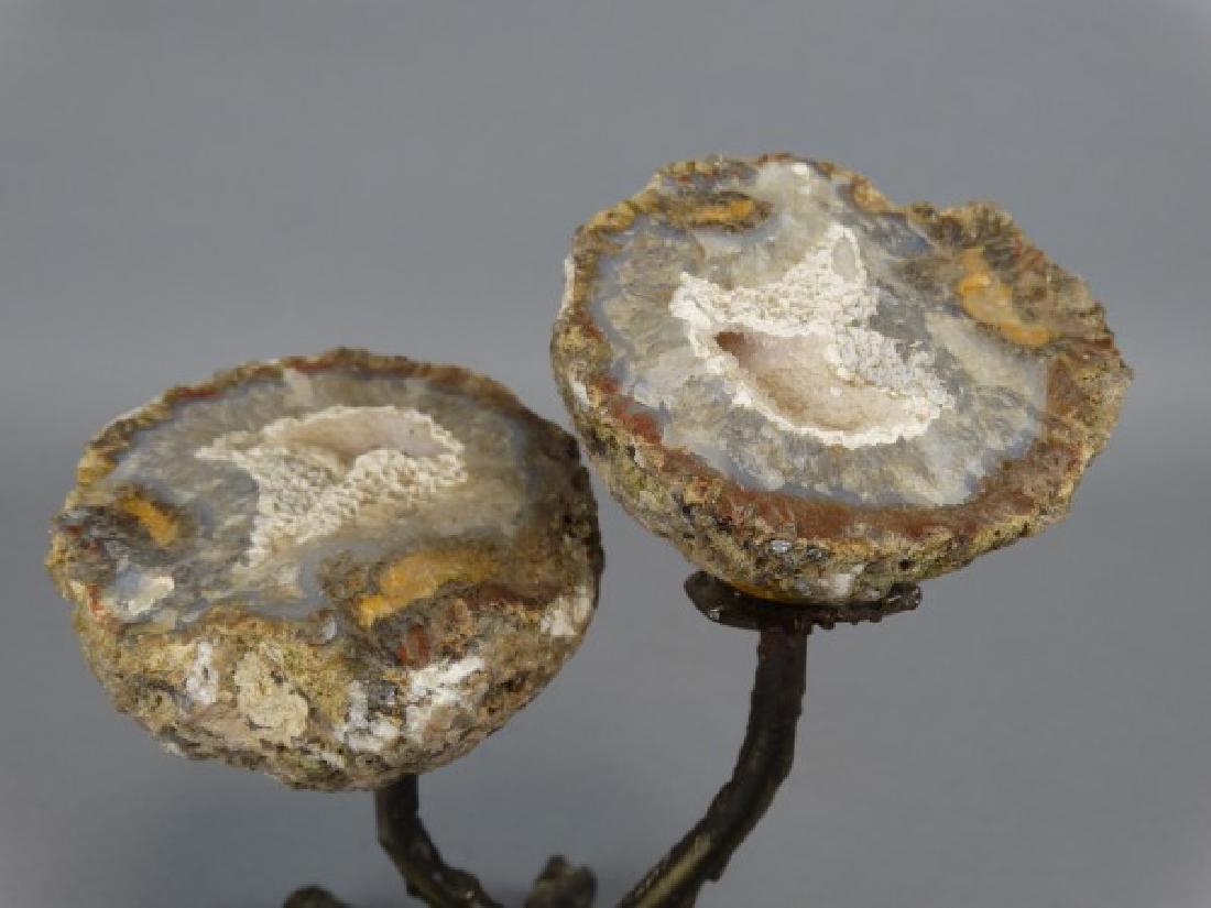 Flower Geode Sculpture - 2
