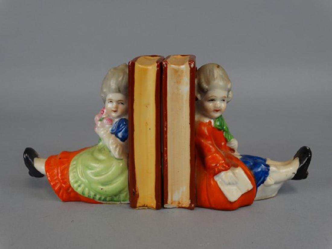 Pair of Japanese Porcelain Bookends