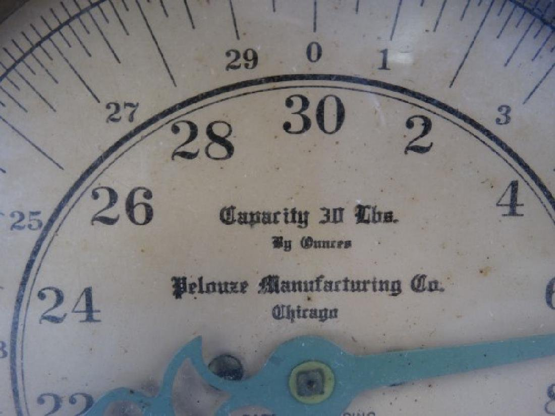 Pelouze Manufacturing Co. 30 LB Scale - 4