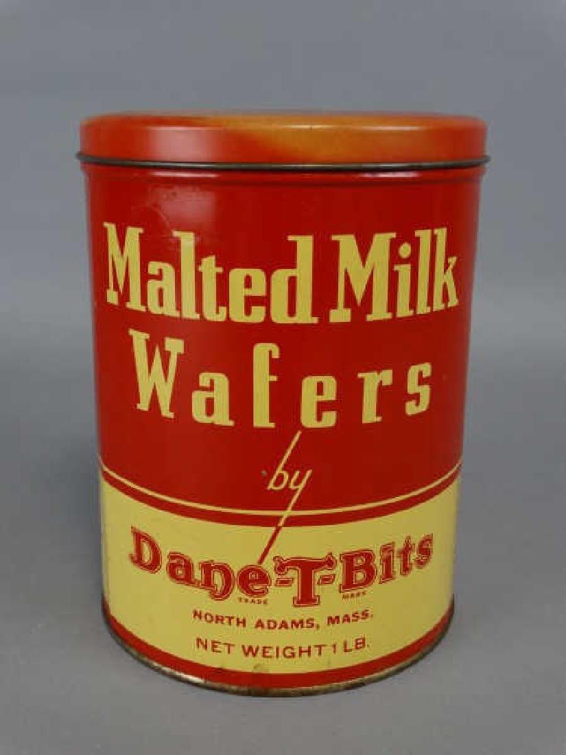 Dane-T-Bits Malted Milk Wafers Tin