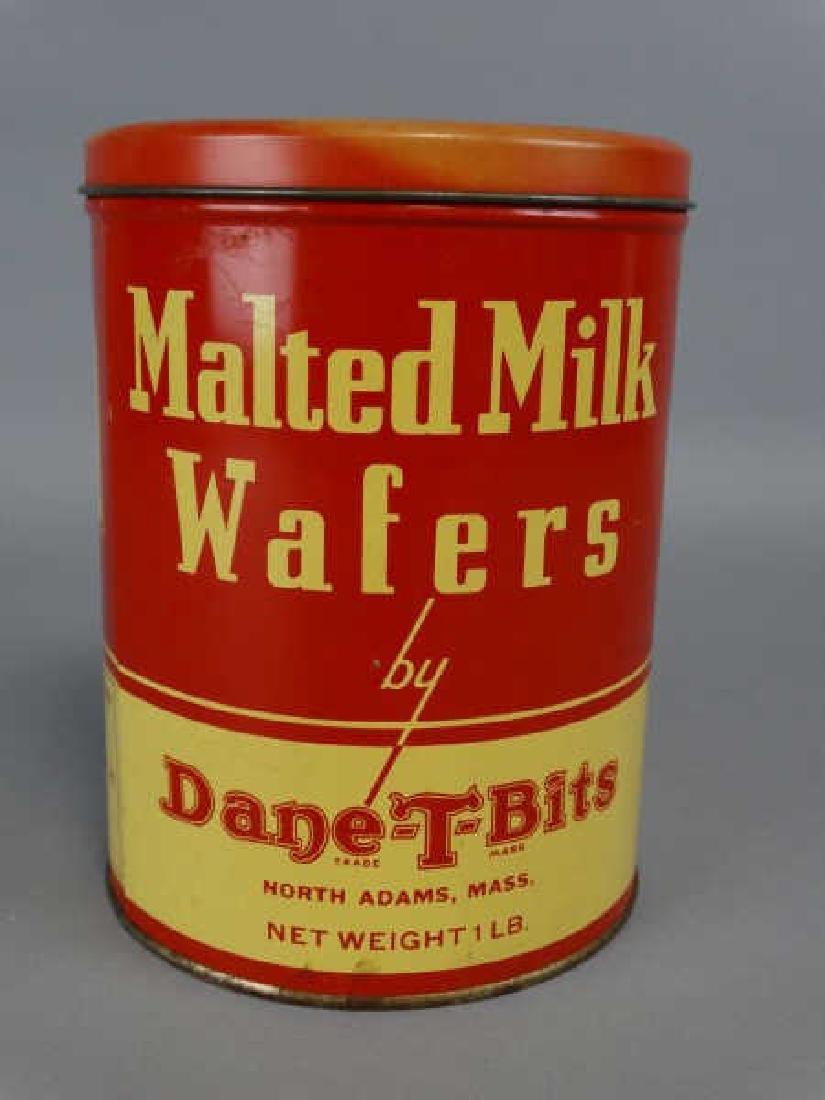 Dane-T-Bits Malted Milk Wafers Tin - 2