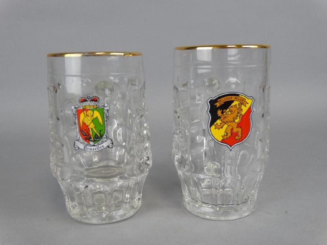2 Belgian Beer Steins.