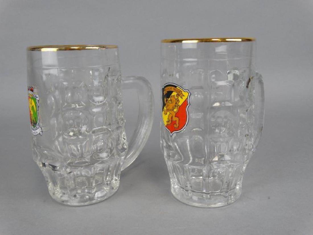2 Belgian Beer Steins. - 2