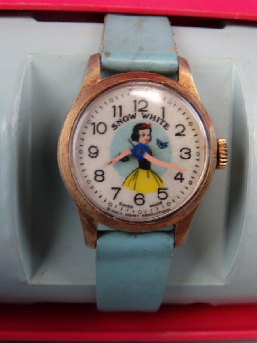 Vintage Bradley Brand Snow White Watch