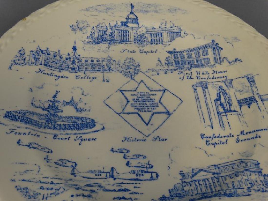 City of Montgomery Alabama Plate by Vernon Kilns - 2