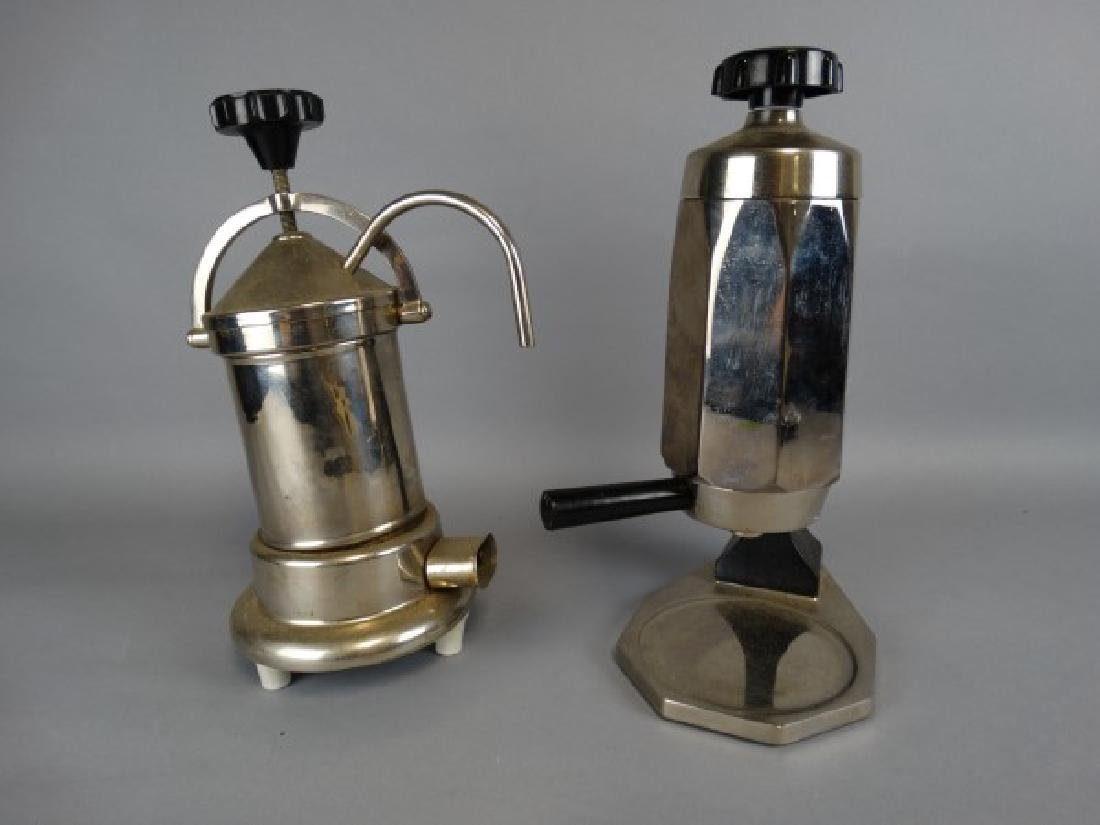 Lot of 2 Vintage Percolators