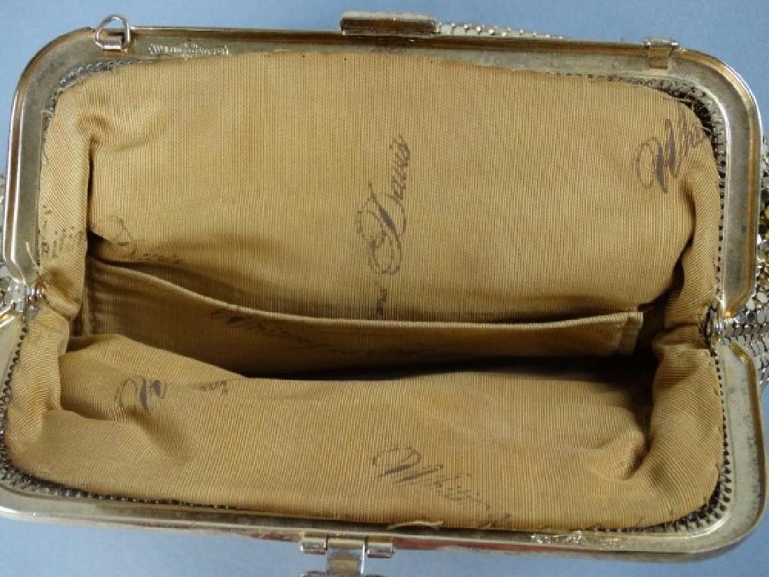 Whiting & Davis Vintage Gold Mesh Purse - 3