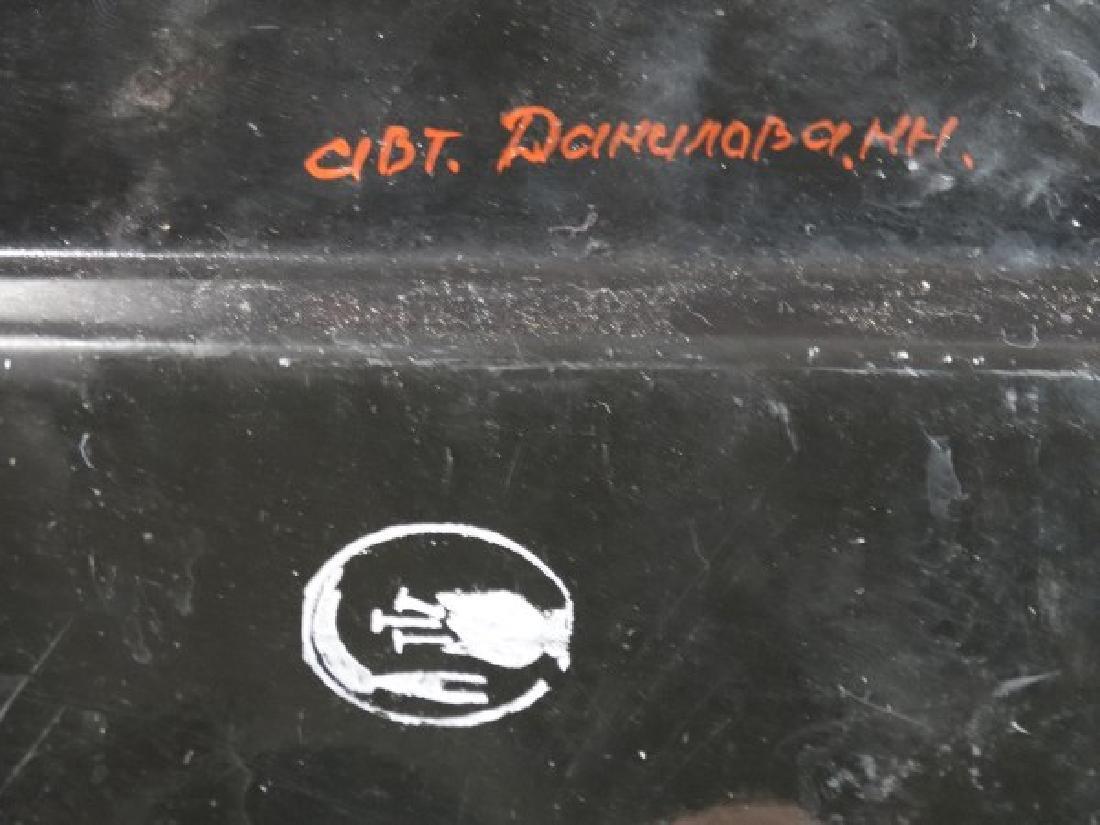 Russian Toleware Tray - 6