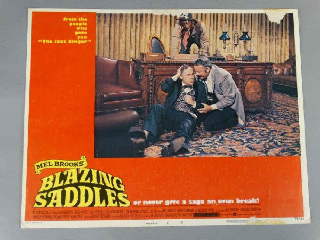Lobby Card - Mel Brooks Blazing Saddles