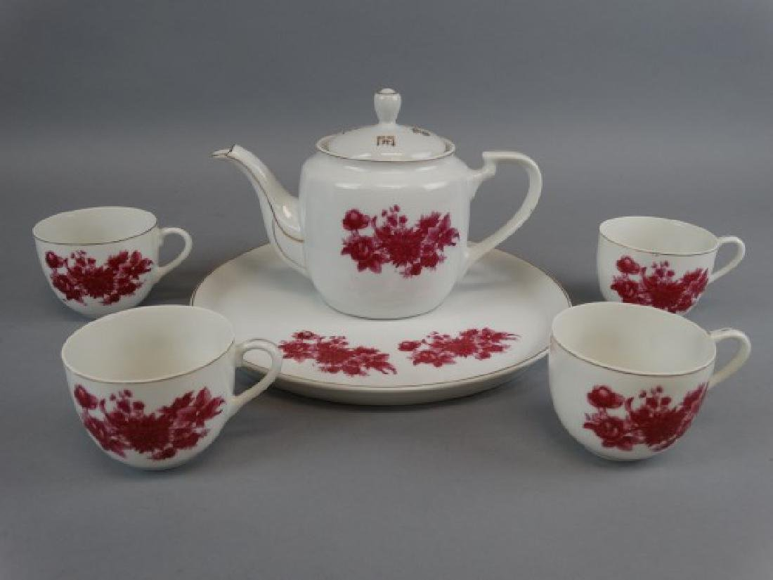 6 pc. Chinese Porcelain Tea Set