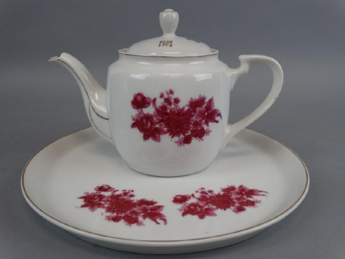 6 pc. Chinese Porcelain Tea Set - 2