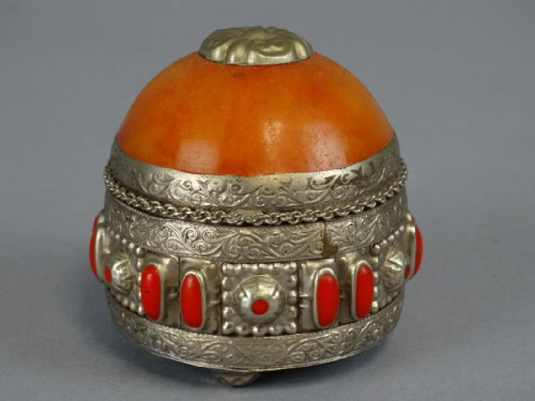 Russian Style Decorative Trinket Box