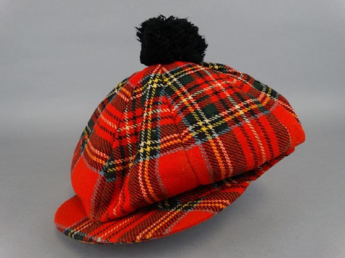 Irish Tweed Vintage Golfing Cap
