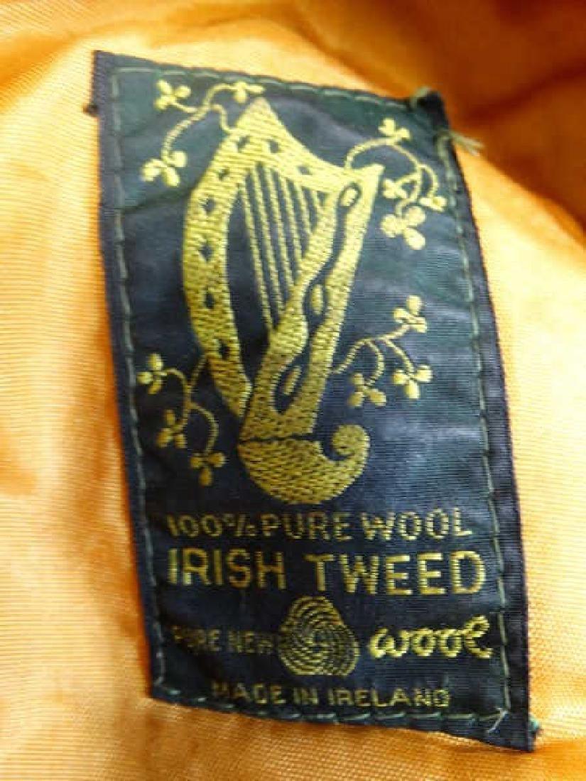 Irish Tweed Vintage Golfing Cap - 2