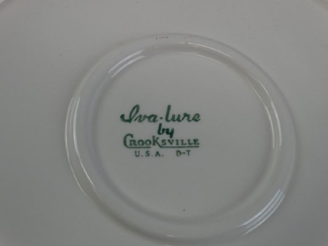 Iva-lure Platter by Crooksville - 4