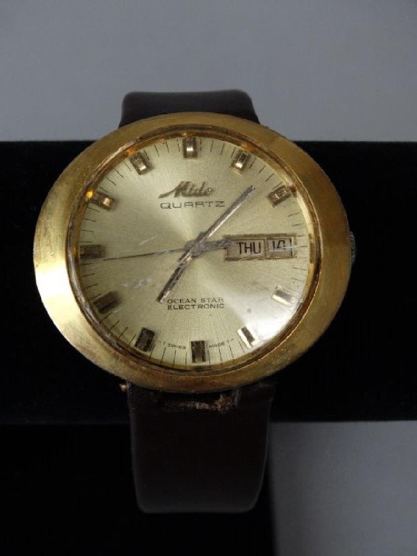Mido Quartz Wristwatch Ocean Star Electronic