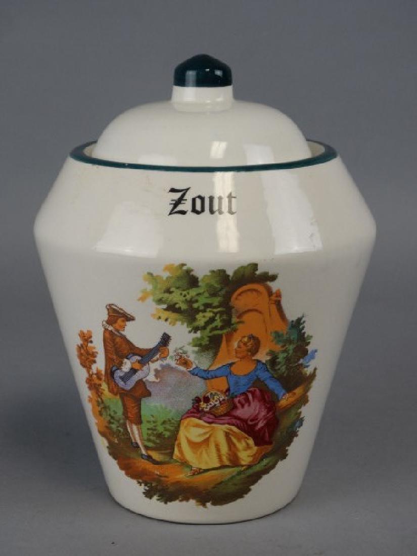 Zout Ceramic Apothocary Jar
