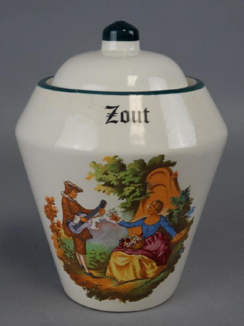Zout Ceramic Apothocary Jar - 2