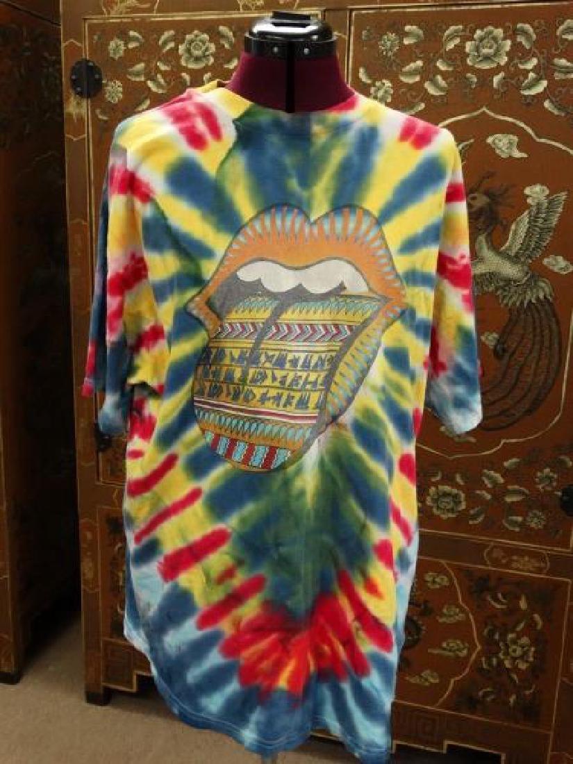 Rolling Stones Tie Dyed Bridges to Babylon Shirt