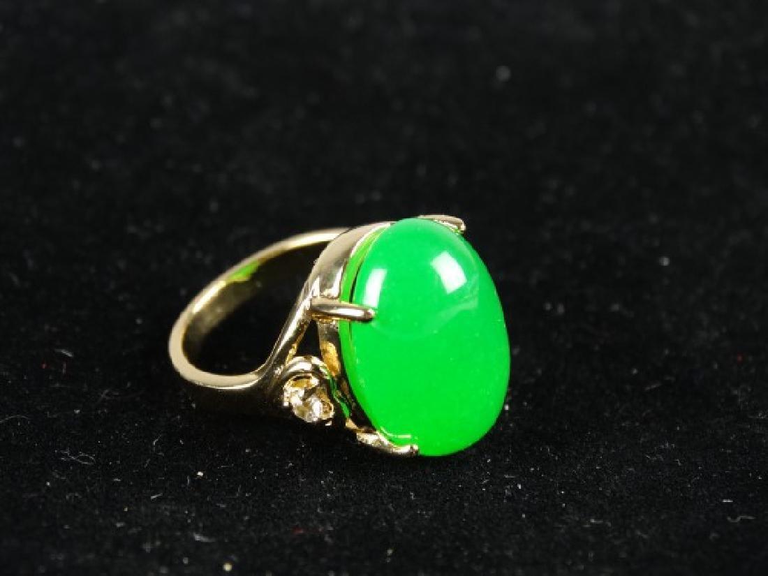 Green Jade Ring