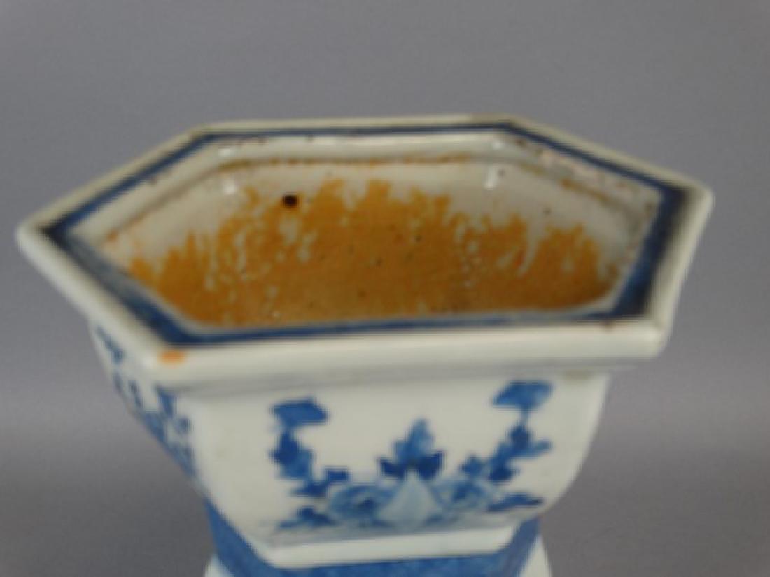 Chinese B&W Candlestick - 3