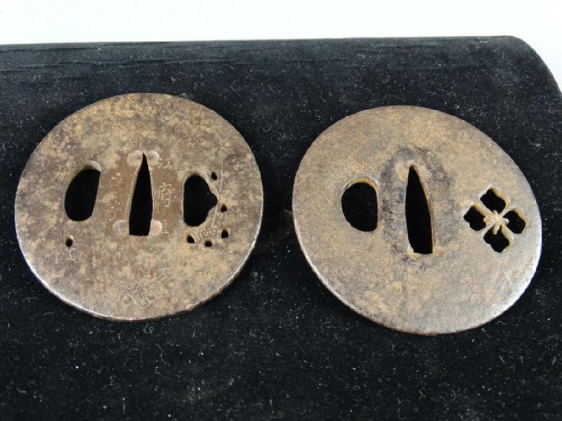 Lot of 2 Japanese Steel Subas
