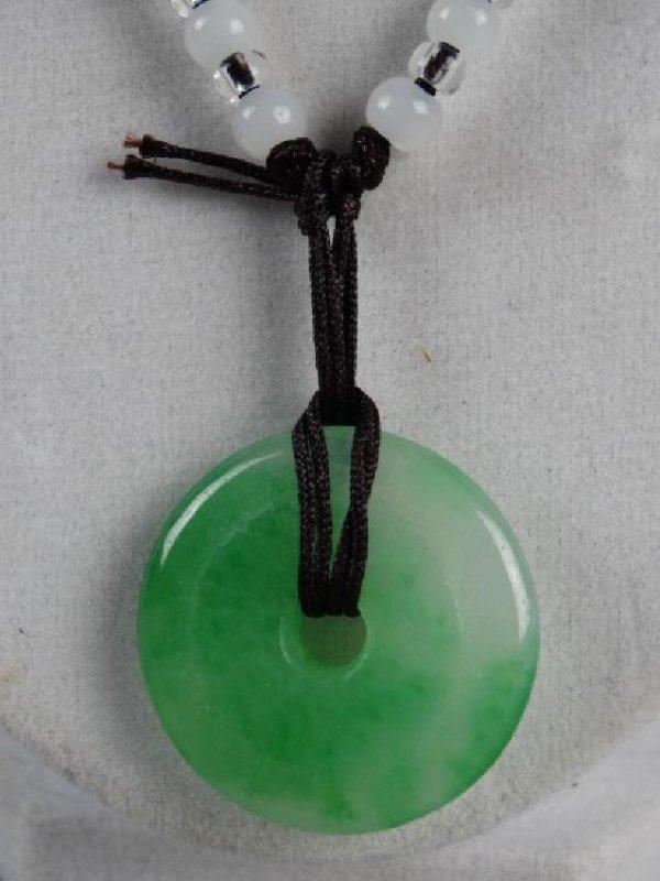 Jade Bi on Necklace - 3