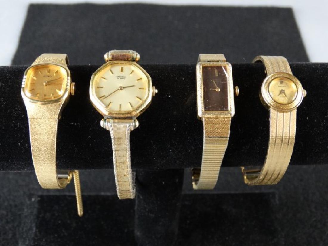 Lot of 4 Vintage Seiko Ladies Watches