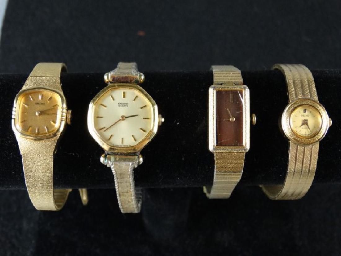 Lot of 4 Vintage Seiko Ladies Watches - 2