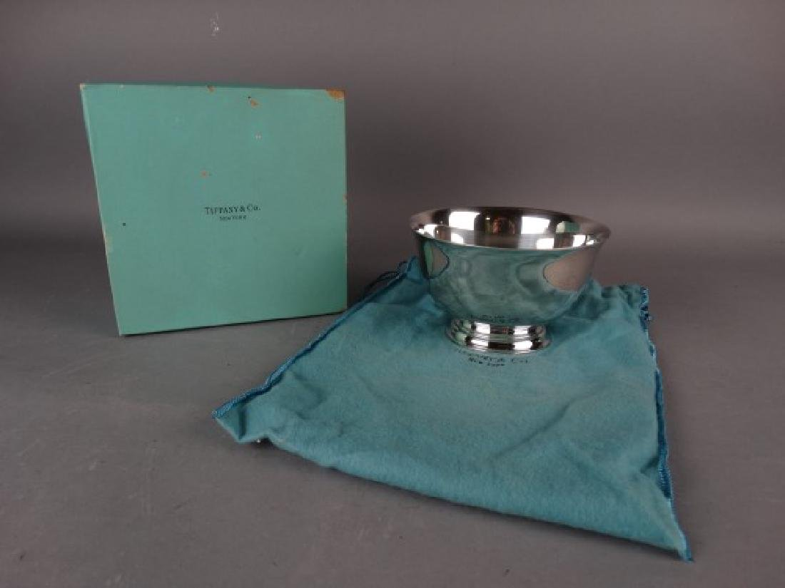 Tiffany & Co. Sterling Silver Bowl w/ Bag & Box