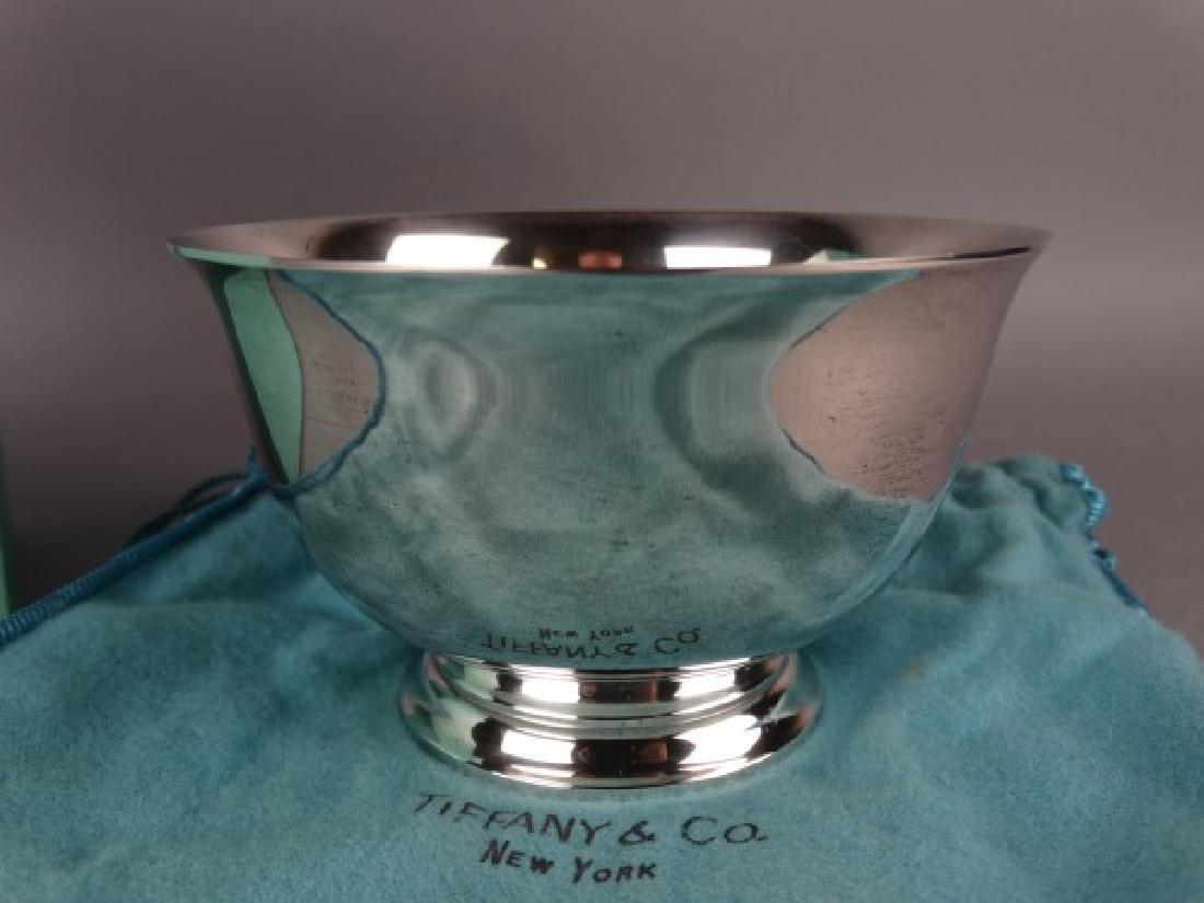Tiffany & Co. Sterling Silver Bowl w/ Bag & Box - 2