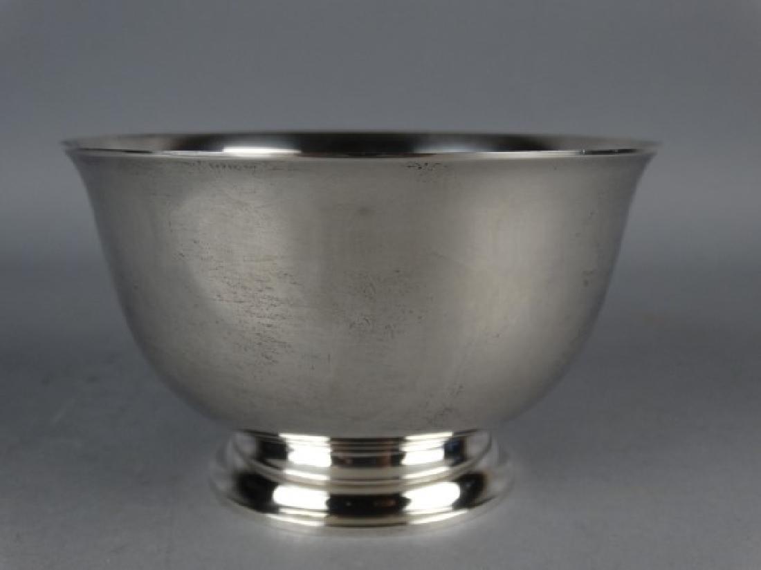 Tiffany & Co. Sterling Silver Bowl w/ Bag & Box - 4
