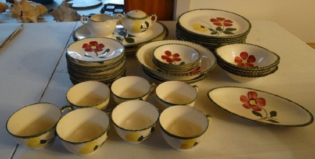 Blue Ridge China - 'Betty Pattern', 43 pcs.
