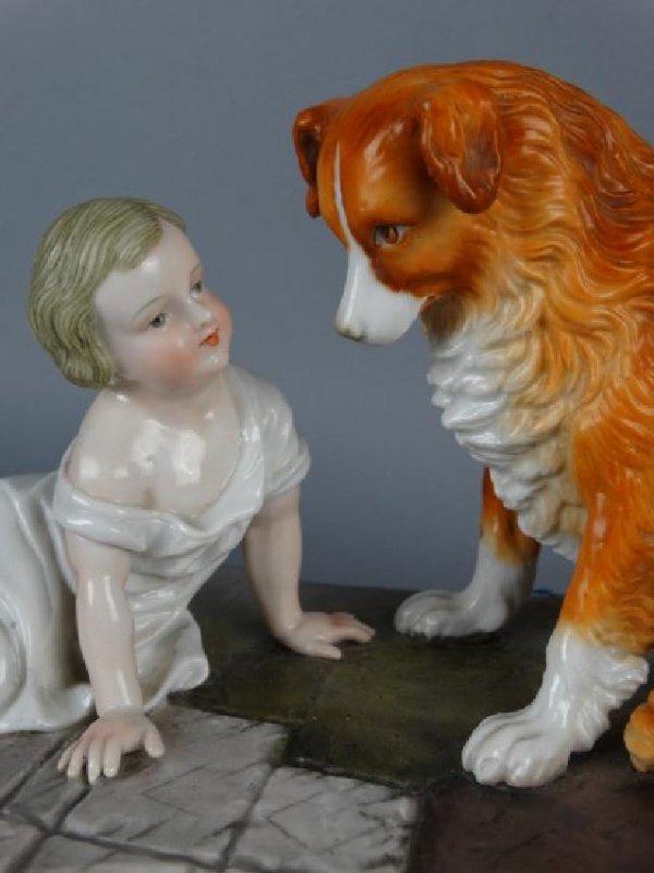 Sitzendorf Porcelain Figural Group - 3