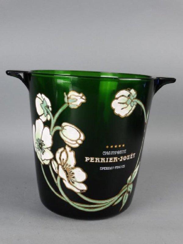 Perrier-Jouet Glass Champagne Bucket