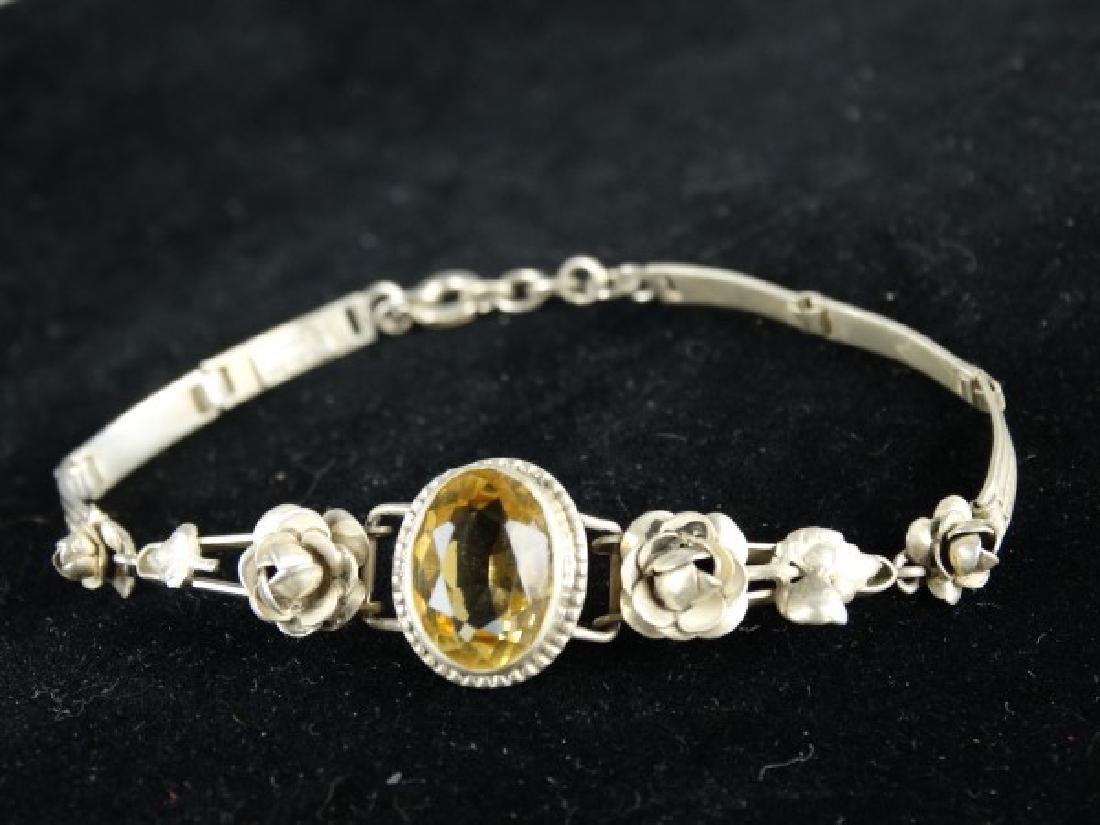 German Arts & Crafts Sterling Silver Bracelet