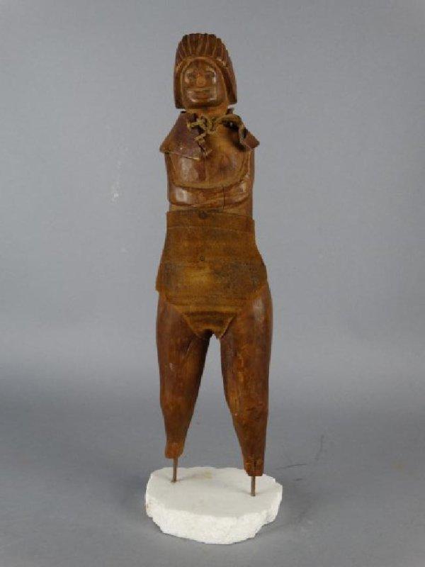 Native American Carved Wooden Figure