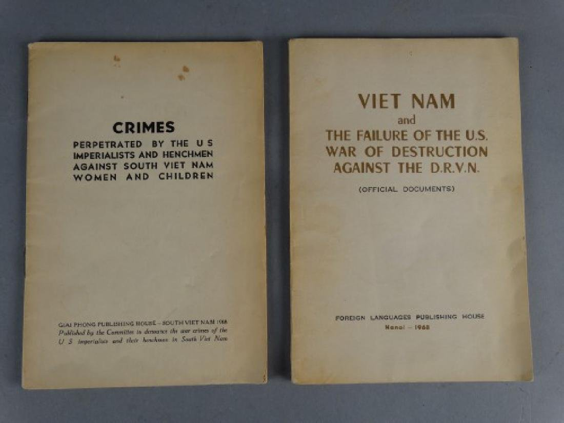 Group of 2 Communist Propoganda Booklets - Vietnam
