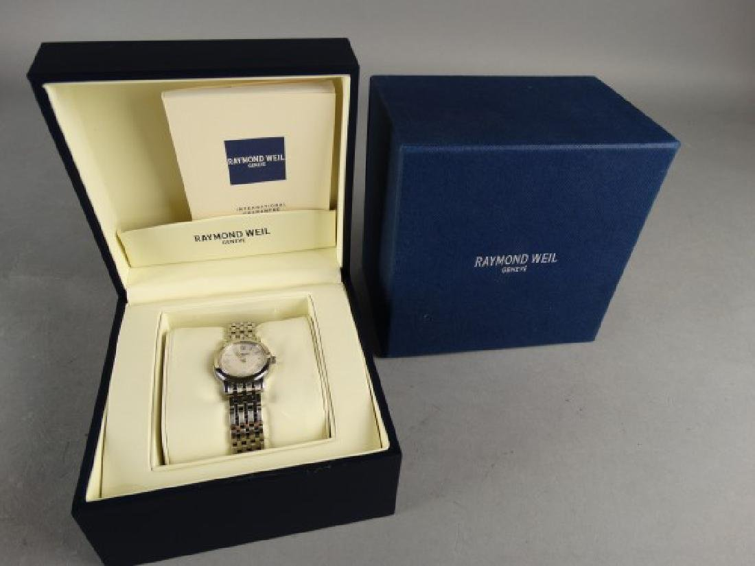 Ladies Raymond Weil 'Toccata' Swiss Watch