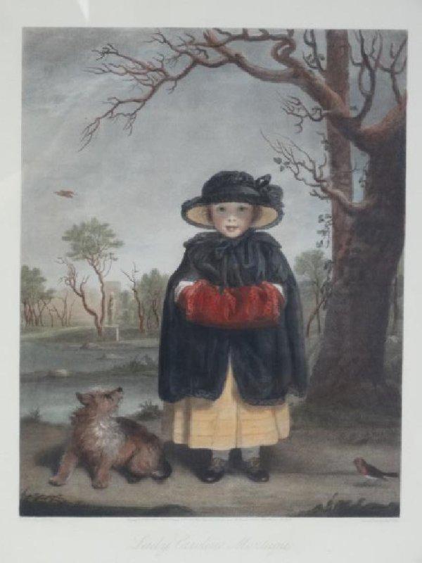 REYNOLDS / COUSINS - Lady Caroline Montagu