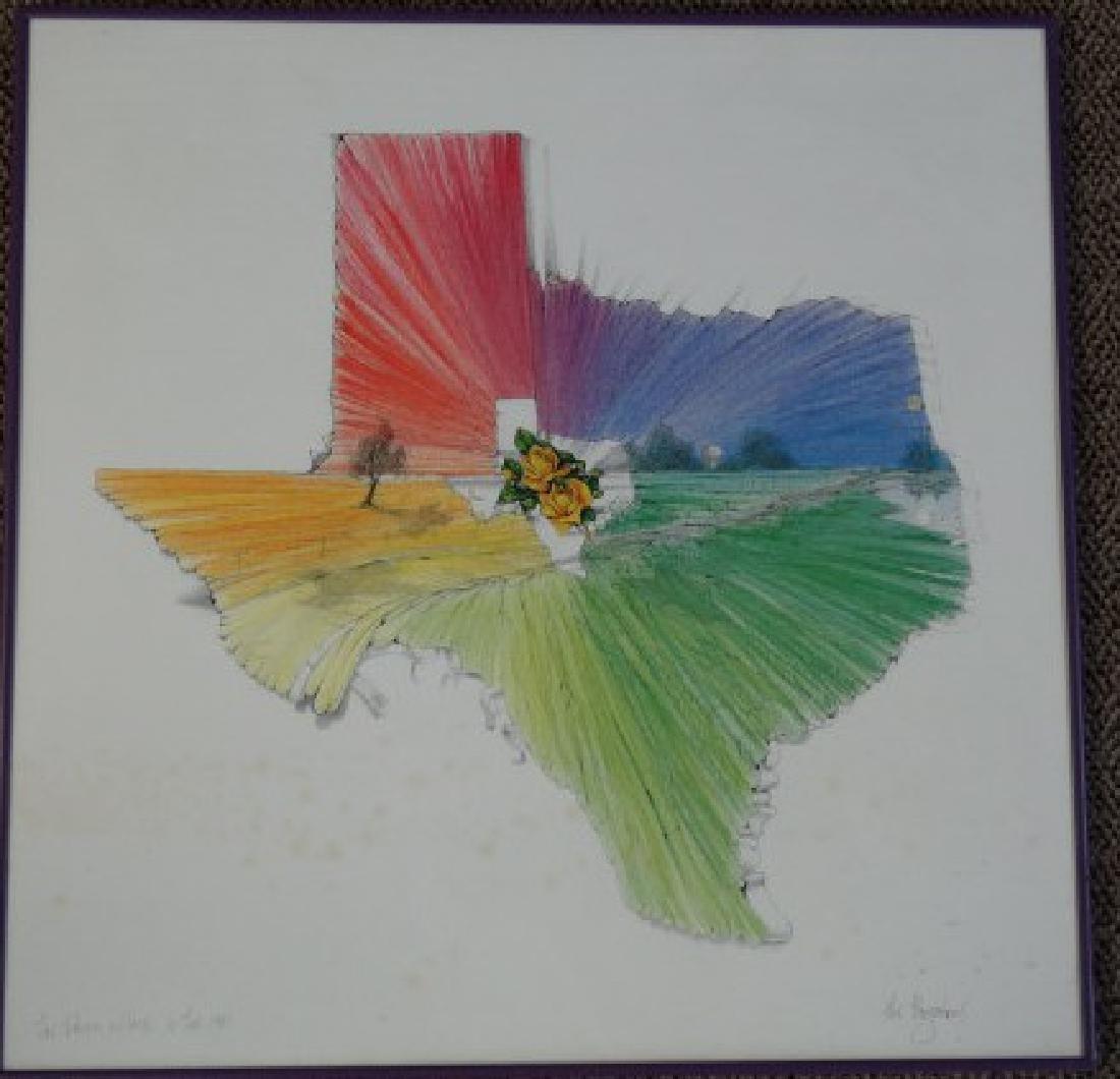 JACK BOYNTON - Signed Texas Print