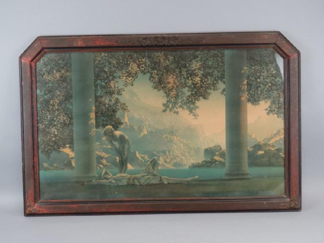 MAXFIELD PARRISH - Print in Original Frame