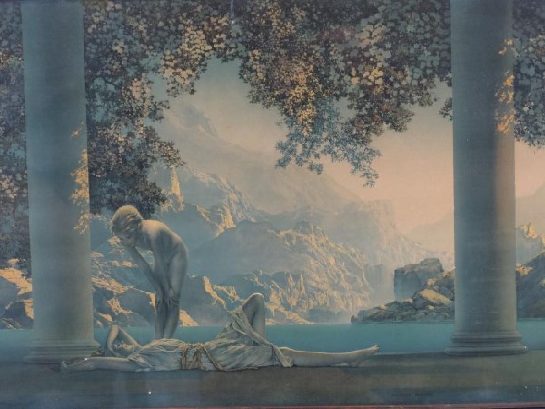 MAXFIELD PARRISH - Print in Original Frame - 2